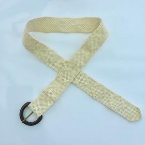 Eddie Bauer Woven Cotton Belt S/M
